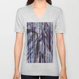 Purple Bamboo Unisex V-Neck