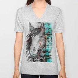 horse Unisex V-Neck