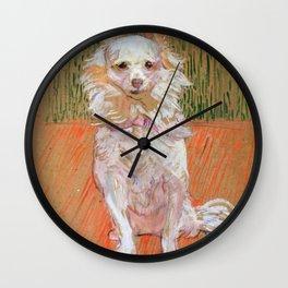 """Henri de Toulouse-Lautrec """"Follette"""" Wall Clock"""