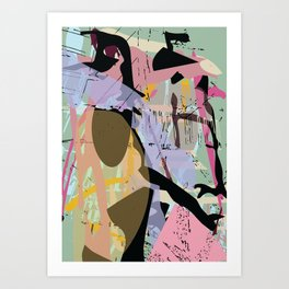 collapsed emotion Art Print