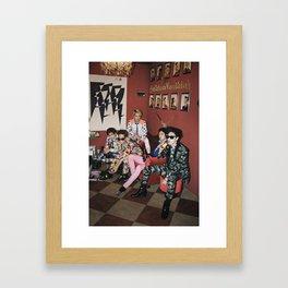 SHINee Framed Art Print