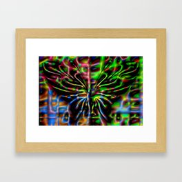 Colorandblack serie 245 Framed Art Print