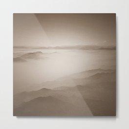Sky View (Sepia) Metal Print