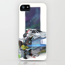 What a pirate without his ship iPhone Case