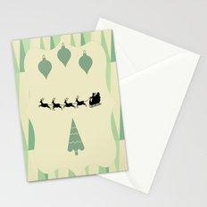 Retro Christmas Stationery Cards
