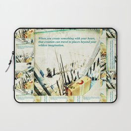 When you Create Something Laptop Sleeve