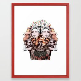 Skullage Framed Art Print