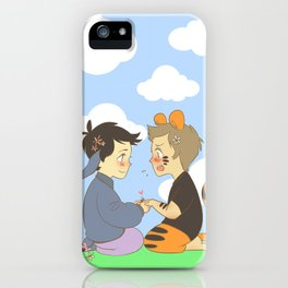 WTP! Destiel iPhone Case