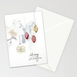 Happy Holiday downtown Stationery Cards