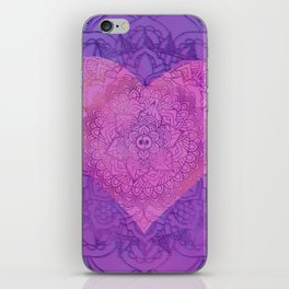 With All My Heart iPhone Skin
