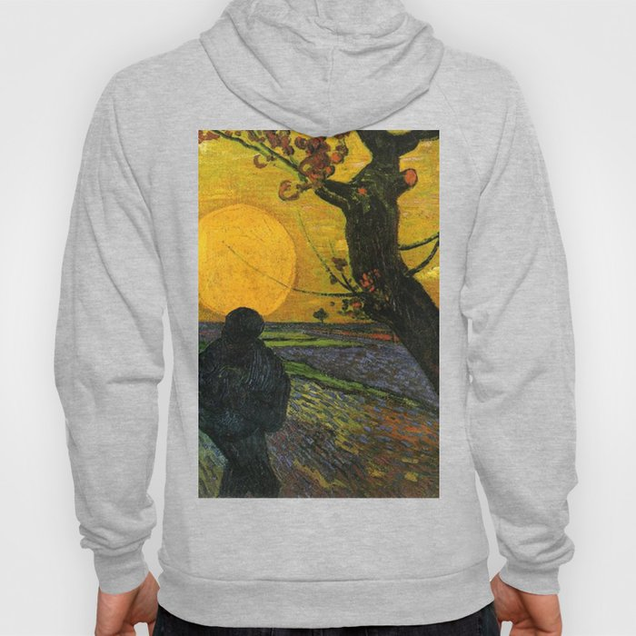 Sower With Setting Sun  - Van Gogh Hoody