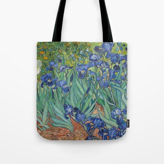 Irises by Vincent van Gogh Tote Bag