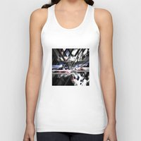 sonic Tank Tops featuring Sonic by Subcon