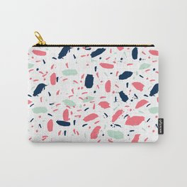 Meli - abstract pattern minimal modern gender neutral art print for home office nursery dorm Carry-All Pouch