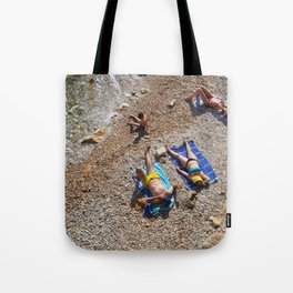 Underpass Beach Tote Bag