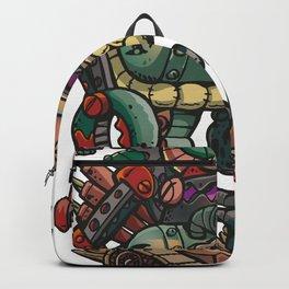 Old German robot Backpack