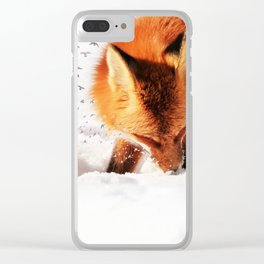 Freedom takes Flight Clear iPhone Case