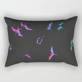 The magnificent frigatebirds *L* by #Bizzartino Rectangular Pillow