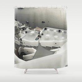 dreaming Fira Shower Curtain