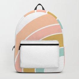Retro rainbow Backpack