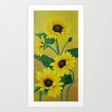 Sunny and bright Art Print