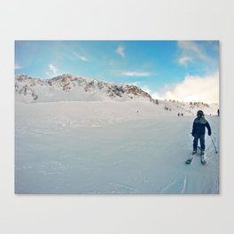Resting on the Shoulder Canvas Print
