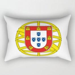 Portuguese Flag (Bandeira Portuguesa) Rectangular Pillow