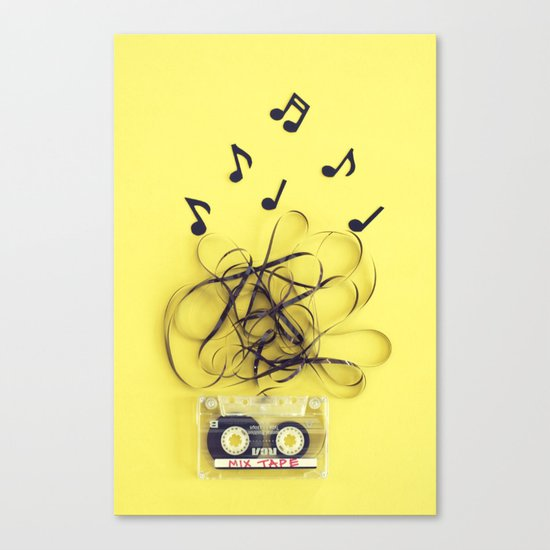 Mix Tape (ANALOG ZINE) Canvas Print