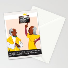 Never Met The King Stationery Cards
