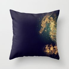 hippocampus Throw Pillow