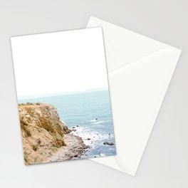 Travel photography Palos Verdes Ocean Cliffs Seascape Landscape I Stationery Cards