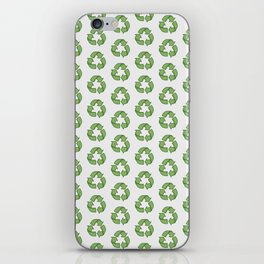 Recycle Symbol iPhone Skin