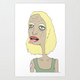burp Art Print