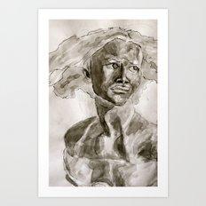 Not A David Bust Art Print