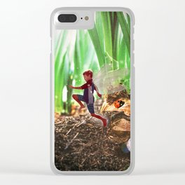 Skipping Fairy Clear iPhone Case