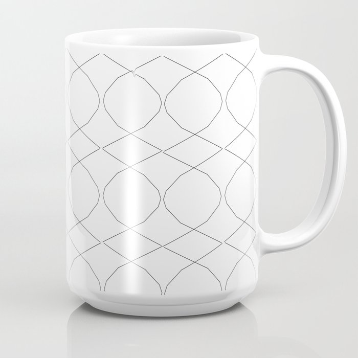 House of God_Aries Reflect Graphic Black and White Coffee Mug