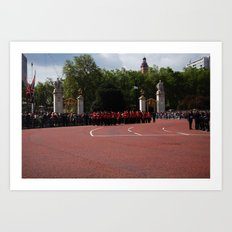 Soldiers March 2  Art Print