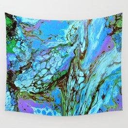 Blue Fantasy Wall Tapestry