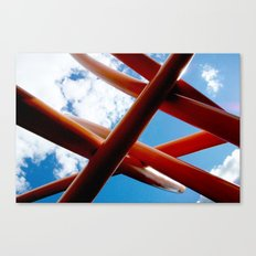 Sky Piping  Canvas Print