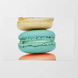 Stack of Macarons Rug