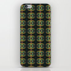 Peacock Bead Abstract iPhone & iPod Skin