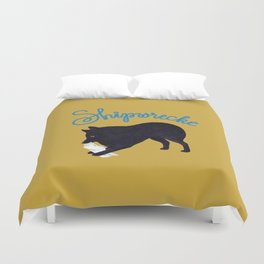 Shipwrecke (Yellow and Blue) Duvet Cover