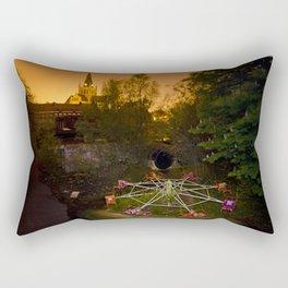 Breathe Out Rectangular Pillow
