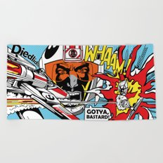 Star Wars Pop Art - Battle Beach Towel