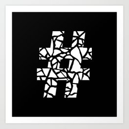 Hashtag #2 Art Print