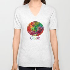Color Theory Clash Unisex V-Neck