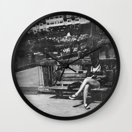 She's Cool Wall Clock