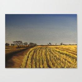To The Wheatbelt Canvas Print