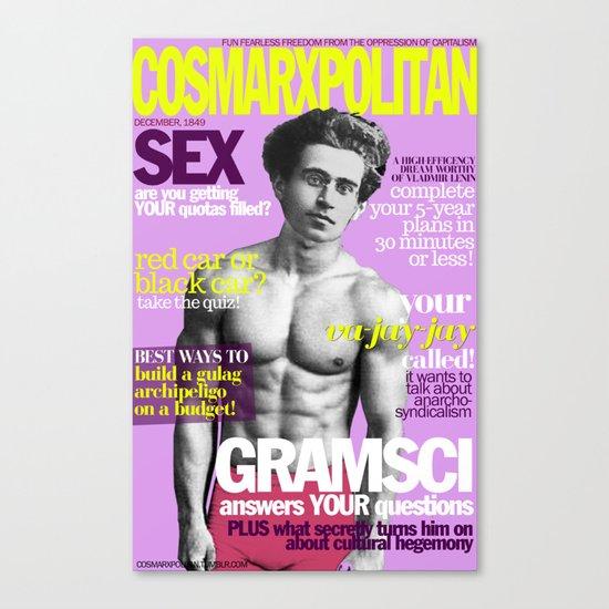 COSMARXPOLITAN, Issue 5 Canvas Print