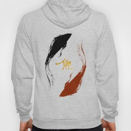Koi Fish | Gold Hoody